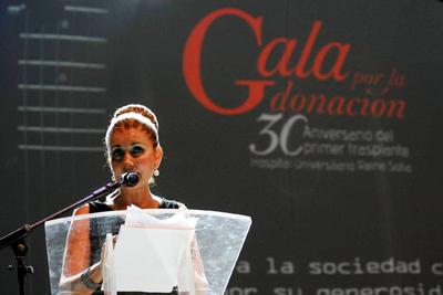 Rafaela Belmonte hizo de maestra de ceremonias