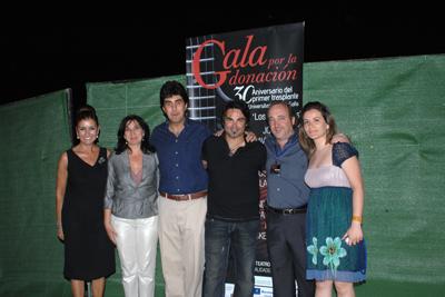 Organizadores de la gala