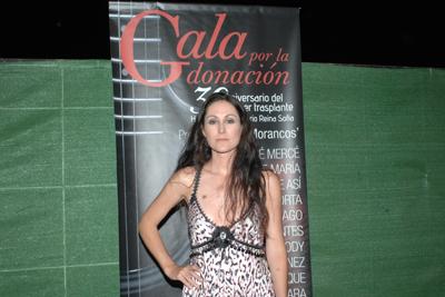 Clara Montes después de su actuación