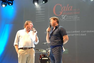 César y Jorge Cadaval, los presentadores de la gala