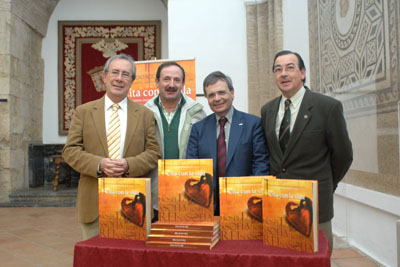 Manuel Alonso, Bibián Ortega, Rafael Matesanz y Juan Carlos Robles.