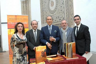 María Isabel Baena, José Manuel Aranda, Antonio Gala, Andrés Ocaña y Daniel Blanco.
