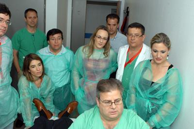 Los asistentes aprenden el manejo de las ecografías digestivas