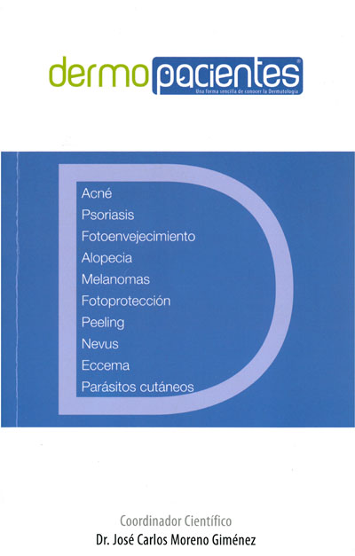 Portada del libro realizado por dermatólogos del hospital