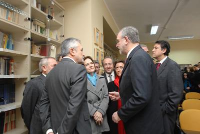 Conocen la biblioteca personal de Castilla del Pino