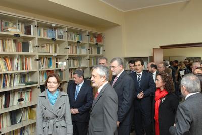 Visita a la nueva sede de la Fundación Castilla del Pino