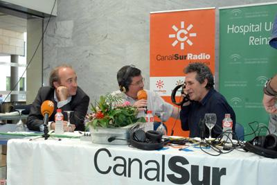 Un momento de la entrevista a Miguel Ríos en 'La hora de Córdoba'.