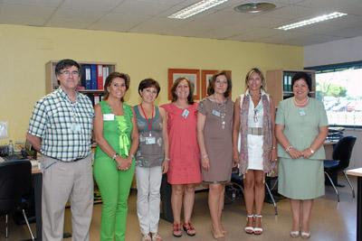 Integrantes de la Unidad Integrada de Formación del Hospital Reina Sofía.