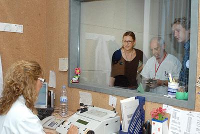 Participan en la realización de una prueba de audición.