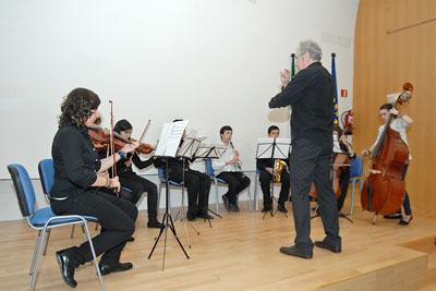 Actuación musical de la Orquesta de Cámara del Instituto Luis de Góngora