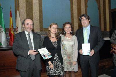 José Manuel Aranda, Marina Álvarez, María Isabel Baena y Juan de la Haba