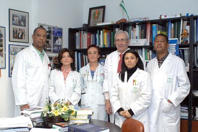 Nefrólogos del Hospital Reina Sofía y de República Dominicana
