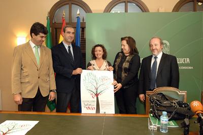 Presentación del cartel del primer concurso de poesía sobre donación dirigido a escolares cordobeses.