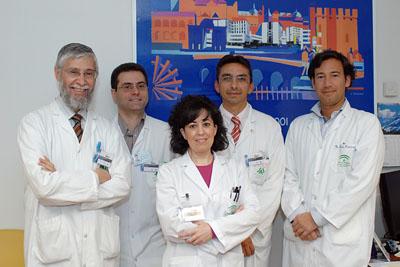 Francisco Pérez Jiménez, Javier Delgado, Carmen Marín, José