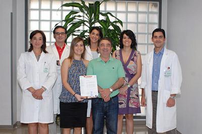 Profesionales de la Unidad de Miembro Superior de Traumatología.