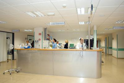Imagen del control de enfermería.