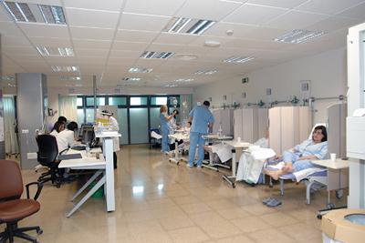 Pacientes atendidos en el área de observación-sillones.