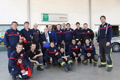Los bomberos conocen el área de Urgencias.