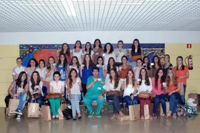 Un grupo de alumnos del Colegio Zalima (Córdoba) que ha participado en la novena edición del programa.