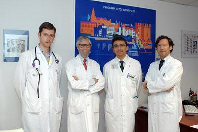 Algunos de los médicos internistas que han participado en esta actividad