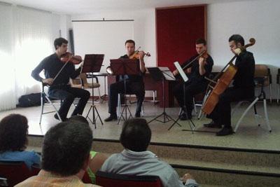 Foto concierto Euterpe para celebrar Día Mundial de la Salud Mental