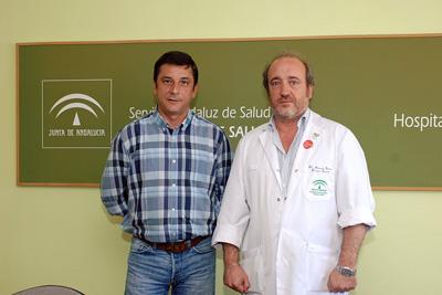 Enrique Centella y José Manuel Aranda