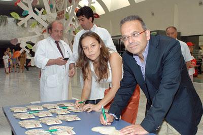 Rocío Molina y Antonio Agraz escriben su razón para donar