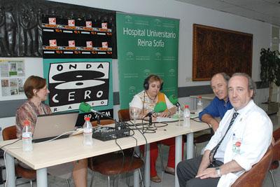 El gerente del hospital y José Manuel Soto participaron en 'Córdoba en la onda'