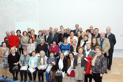 Profesionales jubilados este año en el Hospital Reina Sofía