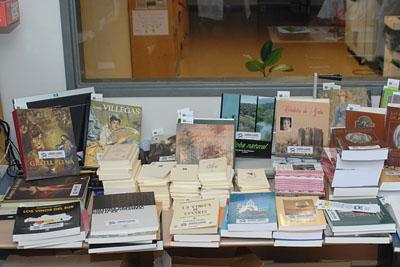 Libros donados por la Fundación Cajasur para lainiciativa bookcrossing.