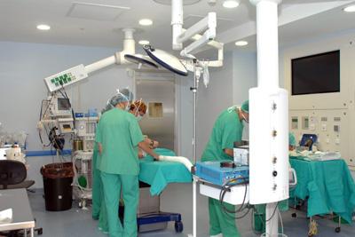 Nuevo quirófano del Hospital Infantil