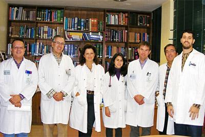 Algunos de los pediatras cuyos trabajos han resultado premiados