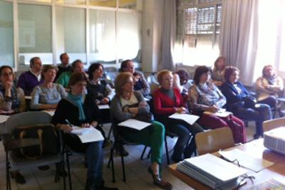 Imagen de una de las sesiones clínicas de Reumatología