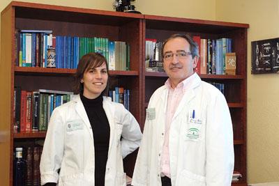 Los ginecólogos Esther Velasco y José Eduardo Arjona