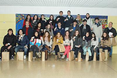 Alumnos de 2º de Bachillerato de Luis de Góngora que ya han visitado el Hospital Reina Sofía