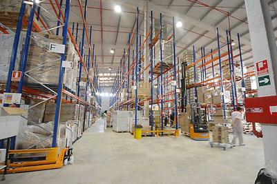 Vista interior de las instalaciones