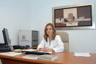 Marina Álvarez en su actual despacho
