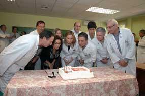 Responsables sanitarios clausuran las actividades del 35 aniversario del primer trasplante