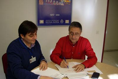 Francisco Javier Rodríguez y José Antonio Serrano