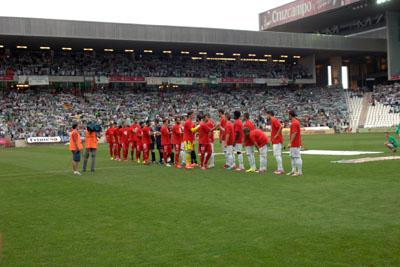Firma de colaboración Córdoba CF y Sevilla FC con la donación de órganos