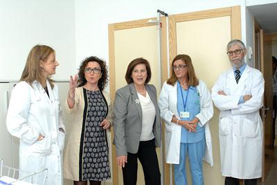 Visitan las instalaciones de la nueva Unidad de Investigación Clínica