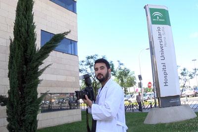 Manuel Villanueva ha realizado prácticas en el servicio de fotografía del hospital