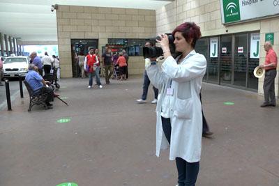 Glisenda García también ha realizado prácticas en el servicio de fotografía