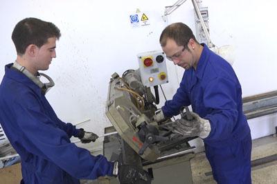 Estudiantes que han realizado practicas este año en mantenimiento