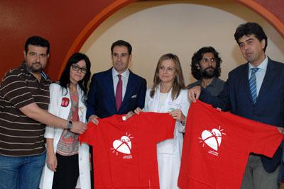'El Litri' y Arcáncel asisten a la presentación de la XII Semana del Donante.