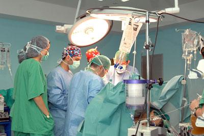 Imagen de archivo de un trasplante hepático