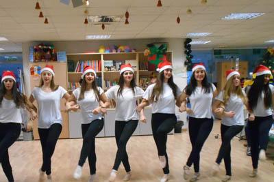 Actuación de alumnas de danza del Conservatorio de Córdoba