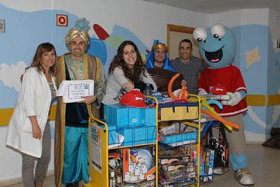 La 'Caravana de la Salud' del programa 'La Banda del Sur', de Canal Sur, visitó a los más pequeños