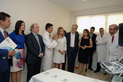 El doctor López Miranda explica el desarrollo de uno de los estudios