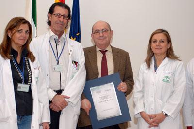 Ana Pelayo, Ignacio Muñoz, José Carlos Moreno y Marina Álvarez